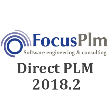 Direct PLM 2018.2 released – added support to all newest CAD versions